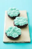 Whoopie pie halves Royalty Free Stock Images
