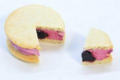 Whoopie pie sandwich Stock Images