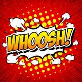 WHOOSH !- Comic Speech Bubble, Cartoon. Stock Photos