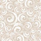 Whorl dandelion stylized decorative vector background Stock Photos