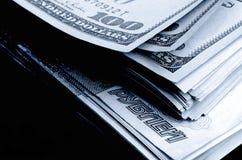 Währungsspekulation der Rubeldollar Stockfotos