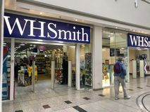 WHSmith store stock images