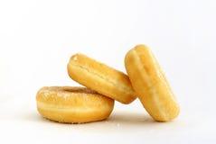 whte donuts 3 предпосылки стоковое фото rf