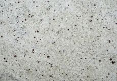 Whte granite tile texture. With brown dots stock photo
