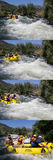 Whte-Wasserrennen Lizenzfreies Stockbild