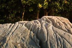 Whtie и лес картины предпосылки каменные в море Пхукете Таиланде Азии Стоковое фото RF