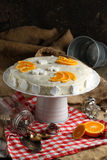 Whtie cake Stock Photos