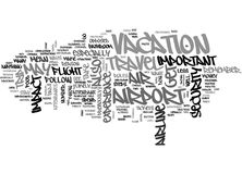 Why Air Travel Just May Be The Most Important Part Of Your Trip Word Cloud Royalty Free Stock Images