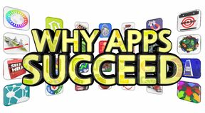 Why Apps Succeed Stock Images