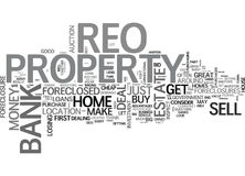 Why Buy An Reo Word Cloud Royalty Free Stock Photography