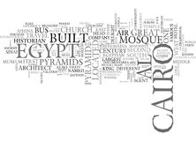 Why Cairo Is A City Of Charm And Mystique Word Cloud. WHY CAIRO IS A CITY OF CHARM AND MYSTIQUE TEXT WORD CLOUD CONCEPT Stock Images