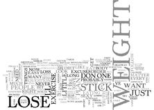 Why Cant I Lose Weight Right Now Word Cloud Stock Image