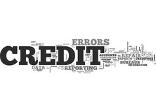 Why Credit Repair Is Needed Word Cloud Royalty Free Stock Image