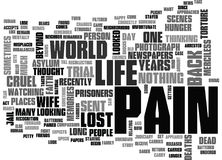 Why Do We Feel That Life Can Be Cruel Word Cloud Royalty Free Stock Images
