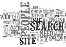 Why Do I Need To Get My Web Site Indexed Word Cloud Royalty Free Stock Image