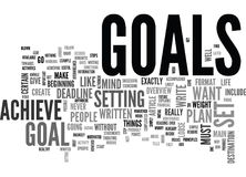 Why Do People Set Goals For Themselves Word Cloud. WHY DO PEOPLE SET GOALS FOR THEMSELVES TEXT WORD CLOUD CONCEPT Royalty Free Stock Photos