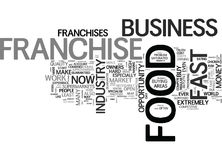 Why Do Some Franchise Owners Fail Word Cloud Stock Photography