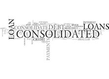 Why Do You Have To Consolidate Word Cloud Stock Photo