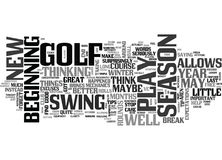 Why Does A Long Layoff Make You Play Better Golf Word Cloud