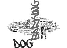 Why Dog S Bark Word Cloud Royalty Free Stock Photography