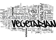 Why Eat Vegetarian Word Cloud Stock Images