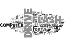 Why Every Pc User Should Own A Flash Drive Word Cloud Royalty Free Stock Image