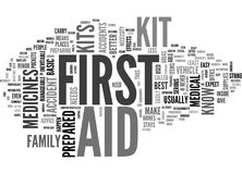 Why Are First Aid Kits Important Word Cloud. WHY ARE FIRST AID KITS IMPORTANT TEXT WORD CLOUD CONCEPT Stock Photos