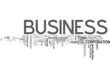 Why Incorporate Your Business Word Cloud stock illustration