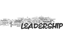 Why Leadership Is So Important To Your Business Success Word Cloud Royalty Free Stock Image