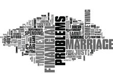 Why Let Financial Problems Ruin Your Marriage Word Cloud. WHY LET FINANCIAL PROBLEMS RUIN YOUR MARRIAGE TEXT WORD CLOUD CONCEPT Stock Photo