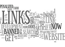 Why Links Count The Power Of Links Part Two Word Cloud Royalty Free Stock Image