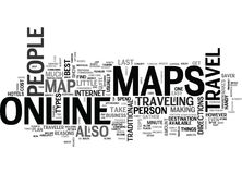 Why Online Maps Are Handy Word Cloud. WHY ONLINE MAPS ARE HANDY TEXT WORD CLOUD CONCEPT Stock Photo