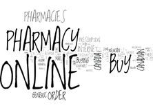 Why Are Online Pharmacies Cheaper Word Cloud. WHY ARE ONLINE PHARMACIES CHEAPER TEXT WORD CLOUD CONCEPT royalty free illustration