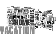 Why Rent A Room When You Can Rent A House Word Cloud Royalty Free Stock Photography