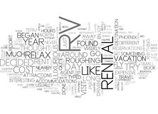 Why Rent An Rv Word Cloud