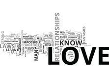 Why It S Impossible To Fail At Love Word Cloud. WHY IT S IMPOSSIBLE TO FAIL AT LOVE TEXT WORD CLOUD CONCEPT Stock Photography