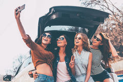 This is why we take road trips! Royalty Free Stock Photos
