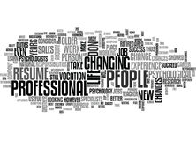 Why Is It Useful To Change Jobs Word Cloud Royalty Free Stock Photos