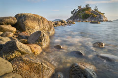 Whyte Island, Whytecliff Park, British Columbia Royalty Free Stock Photography