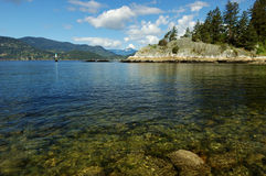 Whytecliff park Royalty Free Stock Photo