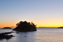 Free Whytecliff Park At Sunset Royalty Free Stock Photography - 7504047