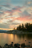 Whytecliff Park Sunset Stock Photography
