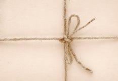 wiążący łęku sznurek Zdjęcia Royalty Free