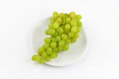 wiązek białych winogron obraz royalty free