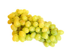 wiązek winogrona zielenieją biel Obrazy Stock