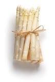 Wiązka biały asparagus Obrazy Royalty Free