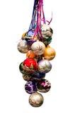 Wiązka bożych narodzeń baubles boże narodzenie nowy rok szczęśliwy wesoło Obrazy Royalty Free