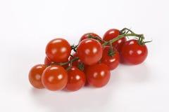 Wiązka czereśniowi pomidory Obrazy Stock