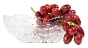 Wiązka czerwoni winogrona Zdjęcia Royalty Free