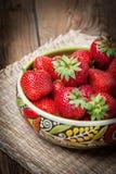 Wiązka dojrzały strawberrie Obraz Stock